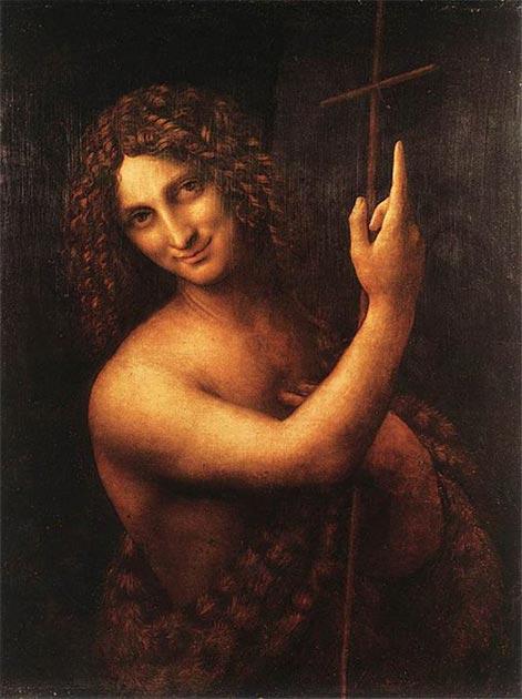 Representación de Juan el Bautista (Leonardo da Vinci (1513) / Dominio público)
