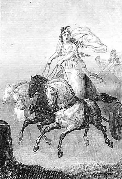 Kyniska: la primera mujer en los Juegos Olímpicos. ¡Y ganó las carreras dos veces! (Sophie de Renneville / Dominio público)