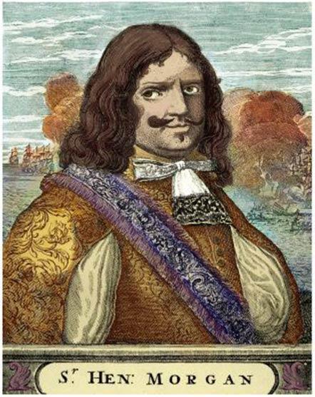 Capitán Morgan, un pirata famoso en una categoría propia. (Dominio público)
