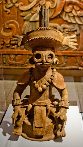 Quemador de incienso que representa a Yax Kuk Mo-(Charles Tilford/Ancient History Encyclopedia)