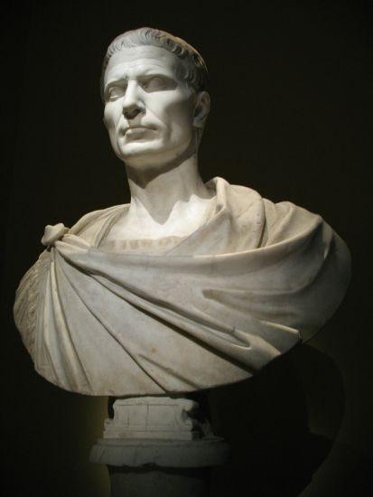 Las tropas de Julio César, con él al frente, tomaron la ciudad de Ategua en el año 45 AC, en la segunda guerra civil entre el propio César y los hijos de Pompeyo.(Wikimedia Commons)