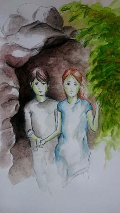 Los niños verdes de Woolpit, por Katalin Polonyi