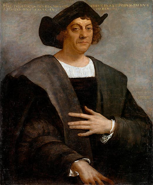 ¿Estaban los vikingos en América del Sur antes de Cristóbal Colón? Foto: retrato póstumo de Cristóbal Colón. (Sebastiano del Piombo / Dominio público)