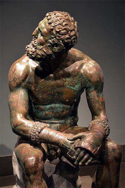 "El "" Púgil en reposo"" es un ejemplo del realismo de la escultura helenística de bronce. (Butko / CC BY-SA 2.0)"