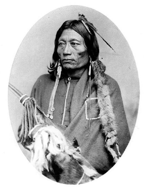 Essa-queta, jefe de Apache de las llanuras. (Dominio público)