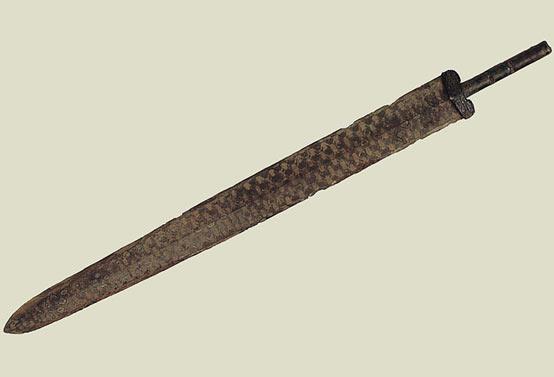 Espada-china-bronce-museo-provincial-huhan