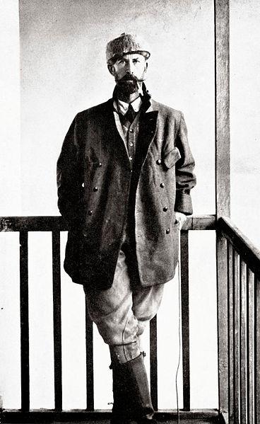 El Coronel Percy Harrison Fawcett en 1911. (Wikimedia Commons)