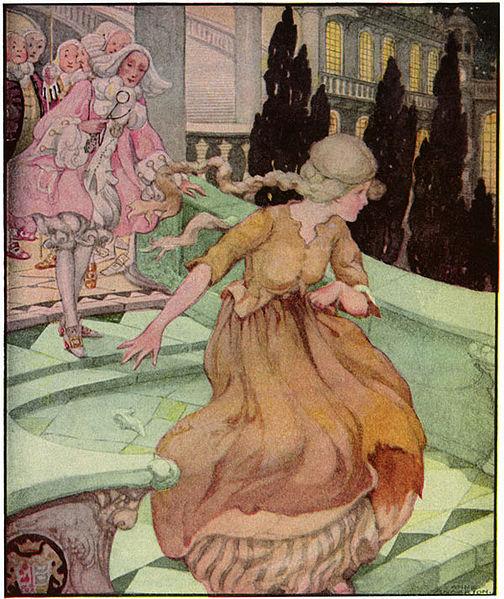 Ilustración de la Cenicienta, A. Anderson (Wikimedia Commons)