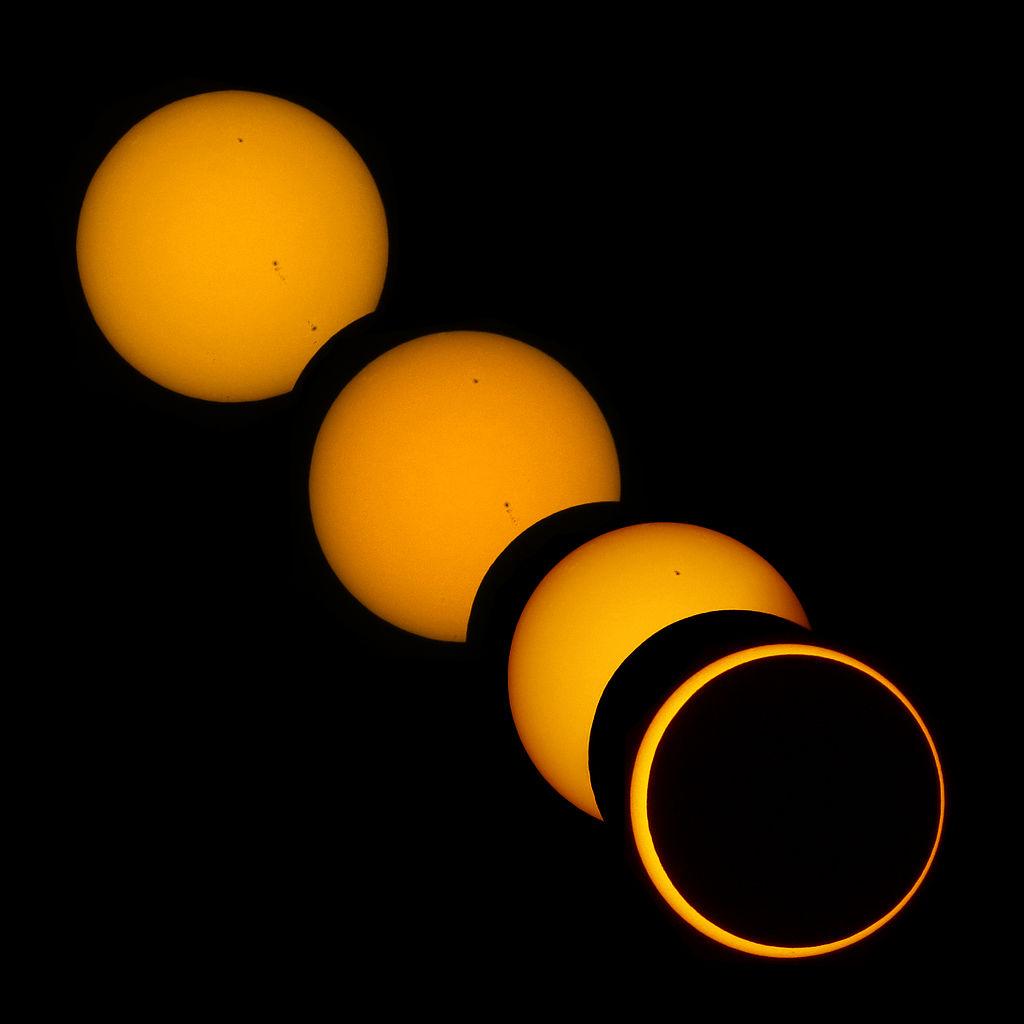 Eclipse solar del 20 de Mayo del 2012