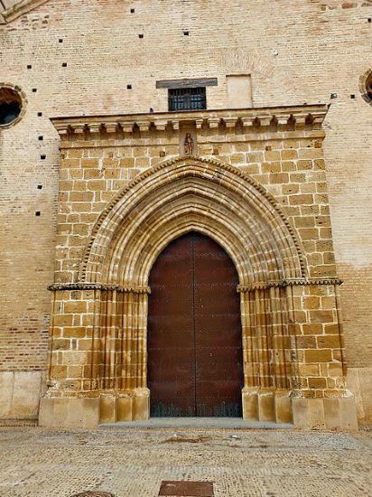 Fachada de la iglesia de Santa María de la Mota de la Villa de Marchena. (Flickr)