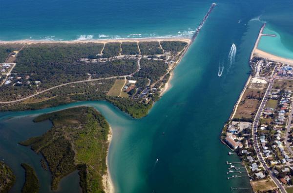 El descubrimiento tuvo lugar a cierta distancia de la costa de Fort Pierce, Florida (en la imagen). (Wikimedia Commons)