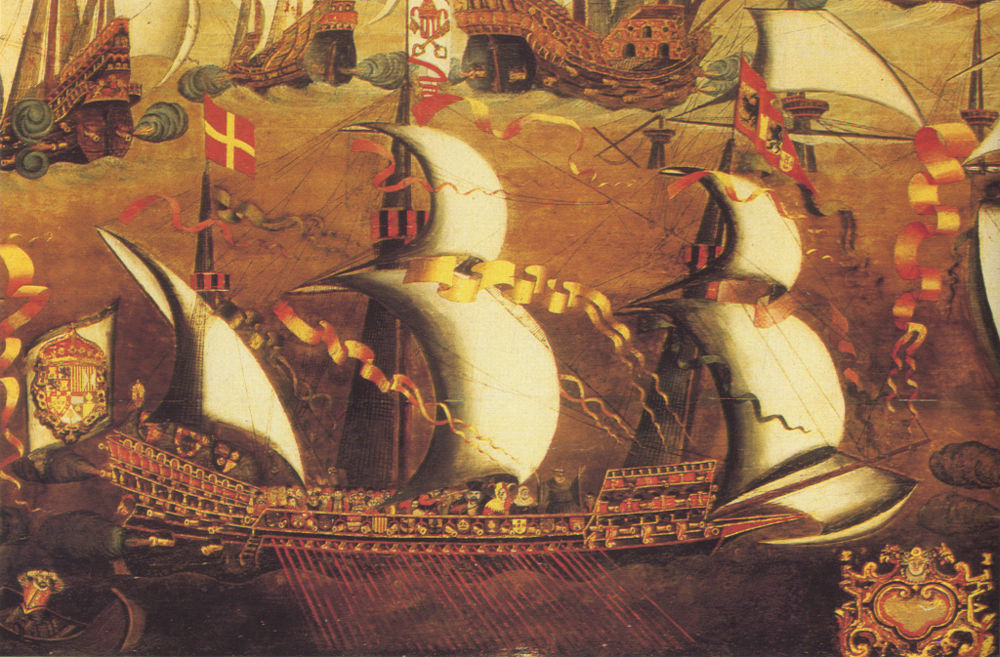 Nave típica de la Armada Española (Wikimedia Commons)
