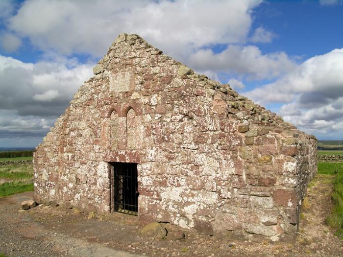 Las ruinas del hospital medieval de Soutra Aisle. (Wikimedia Commons)