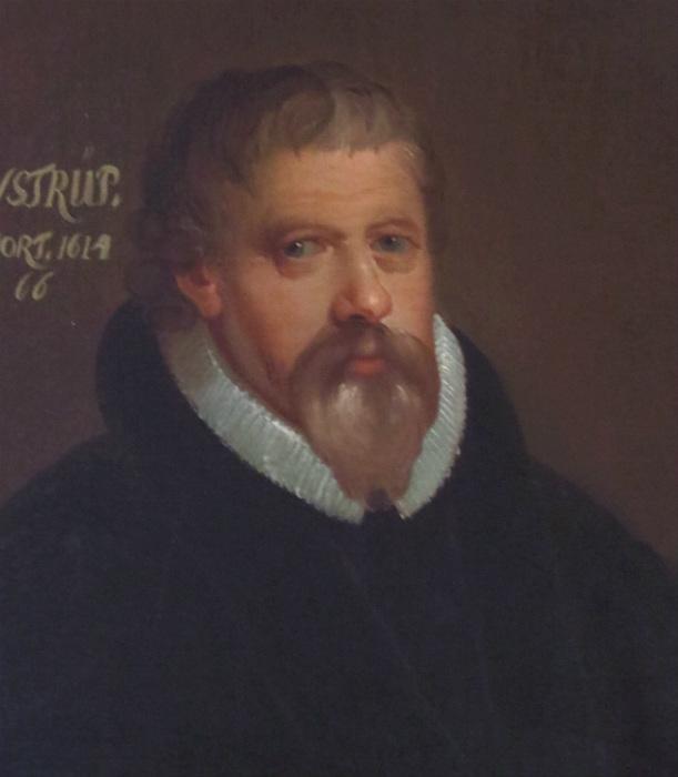 Retrato de Peder Jensen Winstrup, 1750 (Wikimedia Commons