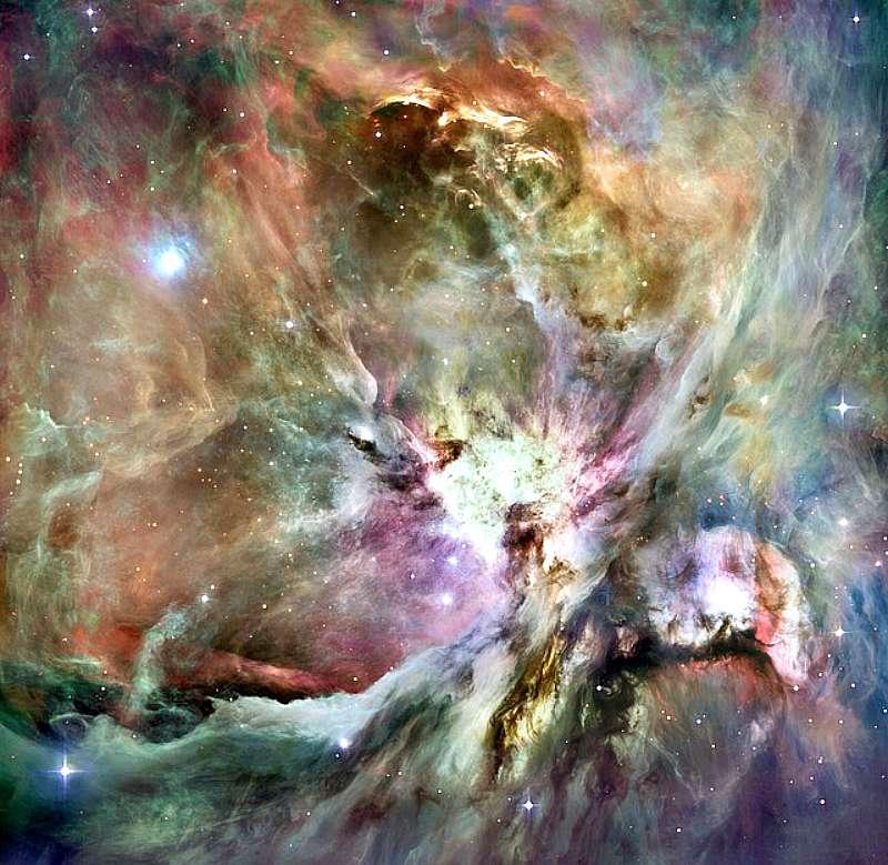 Nebulosa de Orión. Una de las hipótesis acerca del origen de los Nefilim asegura que proceden de Orión. (Public Domain)