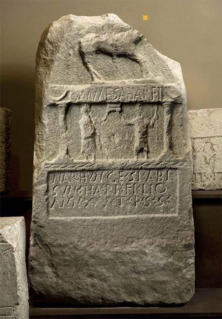 Una inscripción antigua escrita en protovasco. (Nafarroako Gobernua - Gobierno de Navarra / CC BY-SA 4.0)