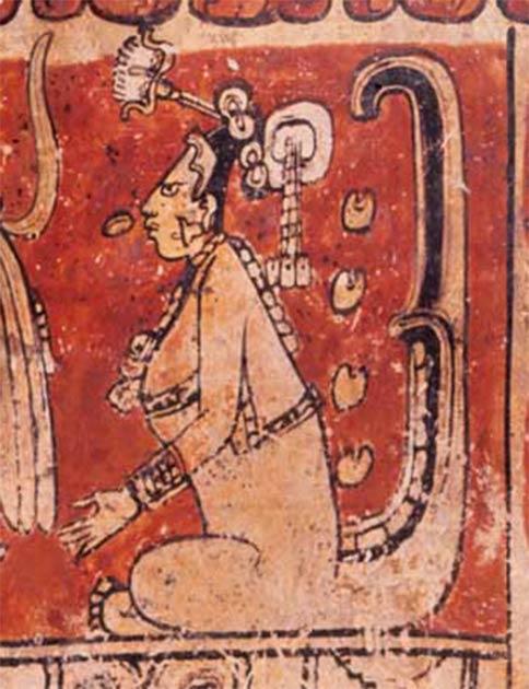 La deidad Maya Ixchel: diosa de la fertilidad, diosa de la creación, diosa de la partería y la medicina, y vinculada a la diosa azteca del baño de sudor Toci Yoalticitl (dominio público)