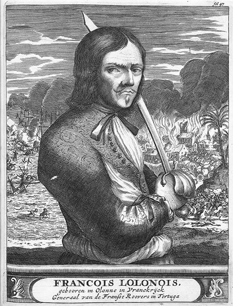François l'Olonnais: El famoso pirata de Francia que tenía sed de sangre y fue devorado por los caníbales al final. (Dominio público)
