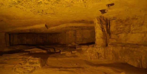 Cueva de Sedecías, Jerusalén, Israel