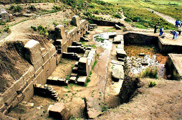 Algunas de las misteriosas ruinas de Tiahuanaco (Flickr)