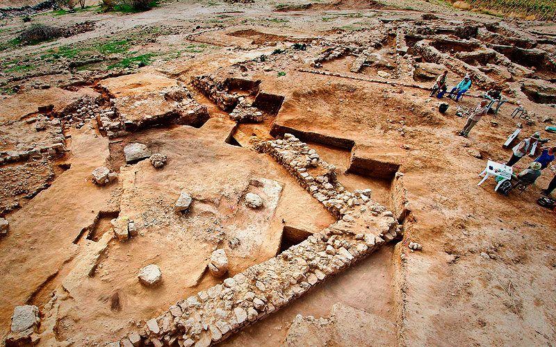 Algunas de las ruinas de Tall el-Hammam, que los arqueólogos llevan excavando desde hace más de una década. (Fotografía: Impacto Evangelístico)