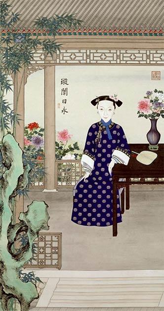 Retrato de la emperatriz viuda Ci'an (co-regente con Cixi), con quien Cixi protagonizó el Golpe de Xinyou. (Museo del Palacio, Beijing / Dominio público)