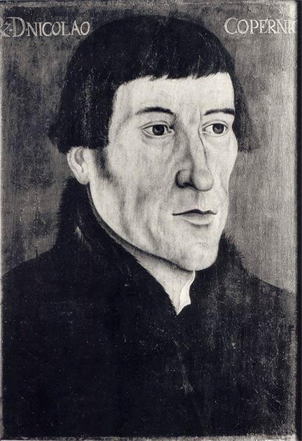 Una copia fotográfica de un retrato de Nicolás Copérnico de mediados del siglo XVI por un pintor desconocido. (Craigboy / dominio público)