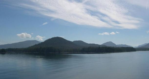 Islas Haida Gwaii, en las que también se han encontrado antiguas huellas de pisadas (Wikimedia Commons)