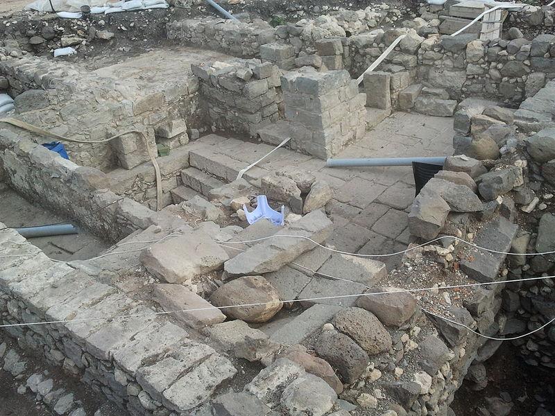 Los baños de purificación de la ciudad de Magdala (Wikimedia Commons)