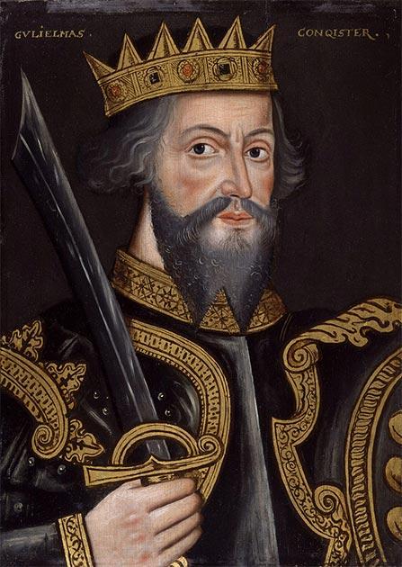 Retrato de Guillermo el Conquistador (Rey Guillermo I), 1597. (National Portrait Gallery / Dominio Publico)