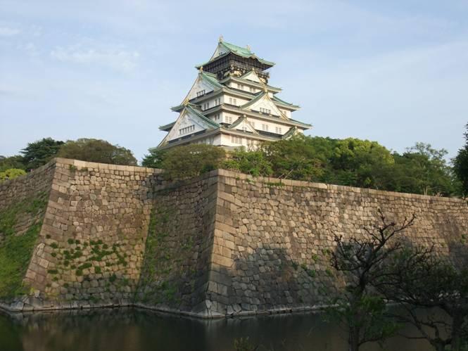Castillo de Osaka, también construido por Toyotomi Hideyoshi (Foto: Linux EXR Mania/Wikimedia Commons)