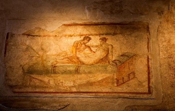 Frescos picantes descubiertos en Pompeya (BigStockPhoto)