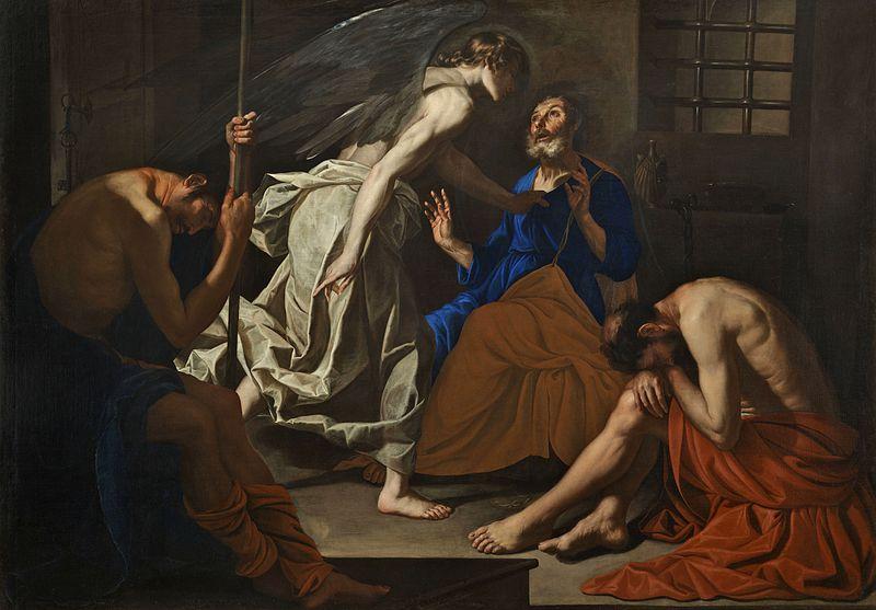 La Liberación de San Pedro (1640), obra de Antonio de Bellis