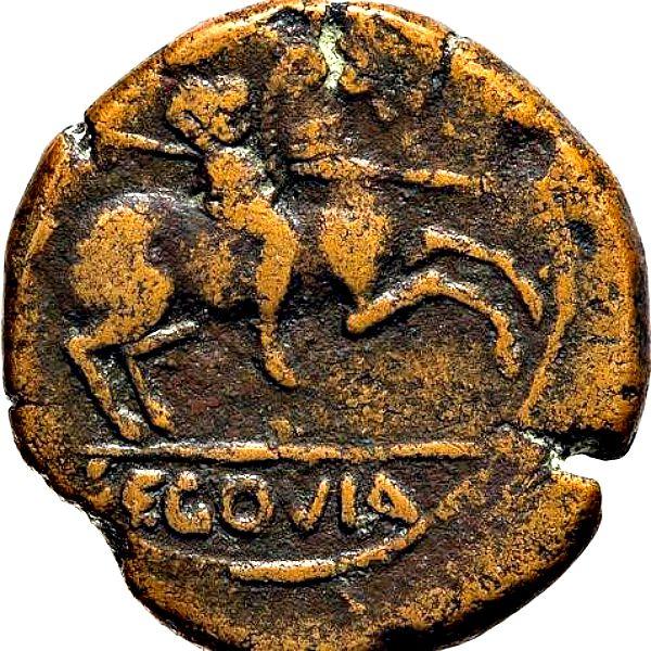 Reverso de la moneda romana descubierta. (Foto: ABC)
