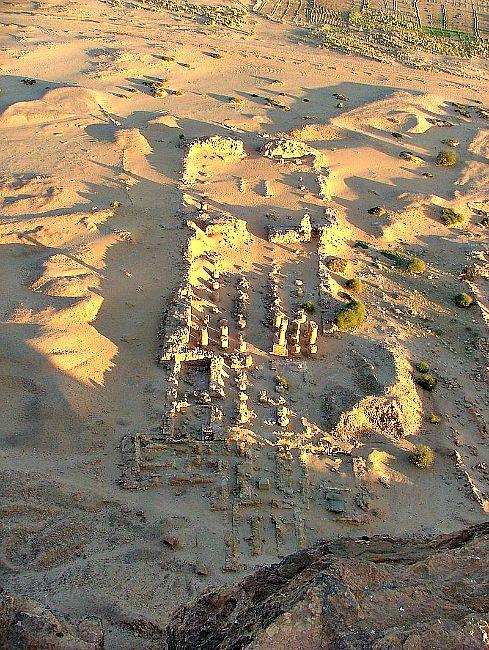 Ruinas del Templo de Amón de Gebel Barkal, centro religioso principal de la Dinastía XXV o Dinastía Kushita. (Wikimedia Commons)