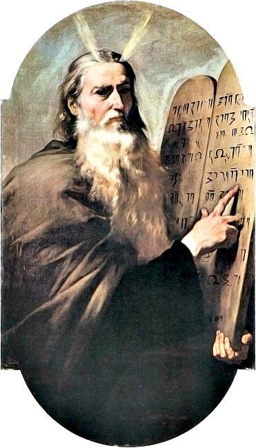 Moisés con las Tablas de la Ley. Óleo barroco de José de Ribera, 1638. Museo Nazionale di San Martino, Nápoles. (Wikimedia Commons)
