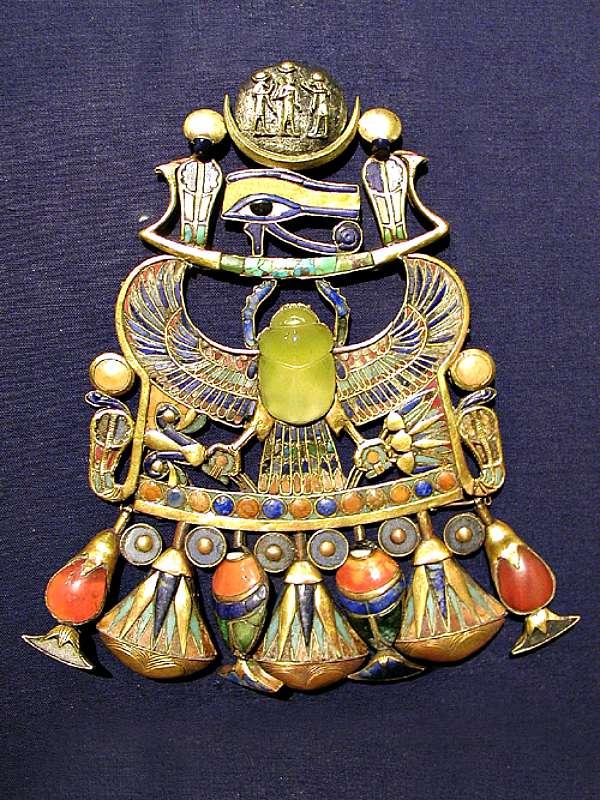 Pectoral-Tutankamon-Jeroglifico