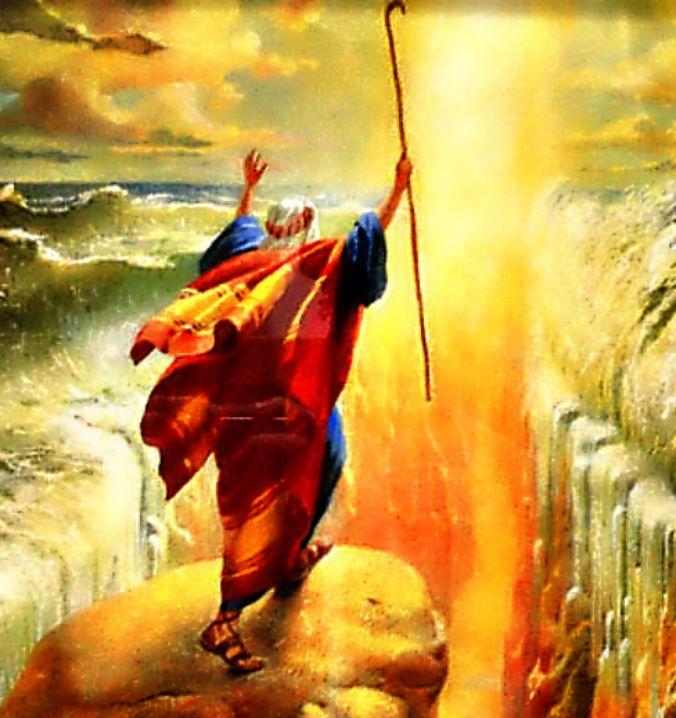 """La """"separación de las aguas"""" de la que habla la Biblia podría haber tenido lugar en la laguna de Shi-Hor, que se abría al mar Mediterráneo al noroeste del Sinaí, y no en el Mar Rojo. (Flickr)"""