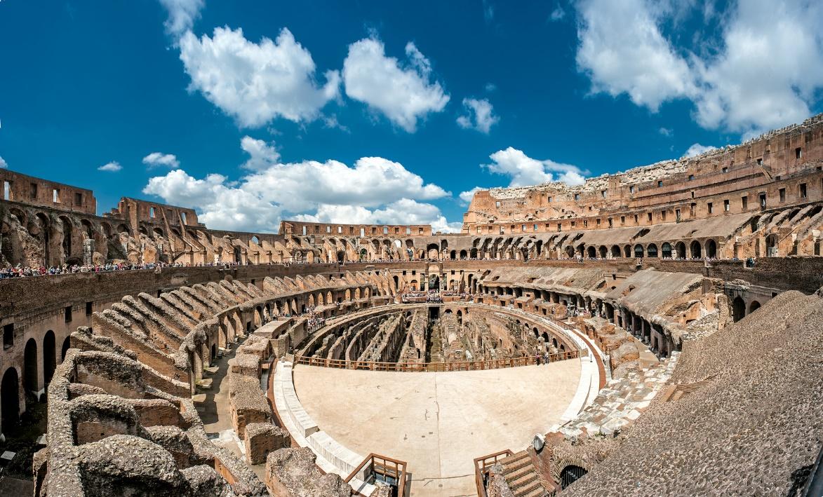 Coliseo-Roma-Interior