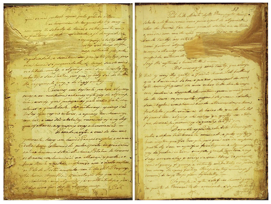 Páginas del Manuscrito 512 (Wikimedia Commons)