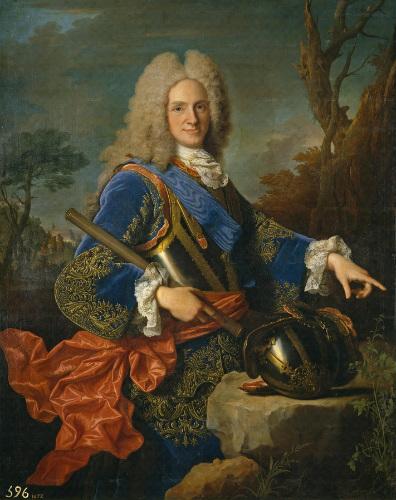 Retrato del Rey Felipe V de España (Wikimedia Commons)
