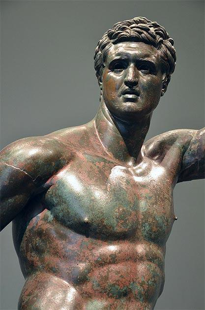 "Estatua de bronce del ""Príncipe seléucida"". (Butko / CC BY-SA 2.0)"