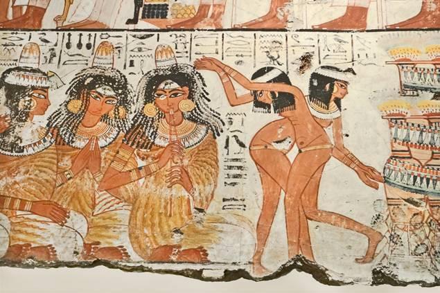 Las mujeres del antiguo Egipto gozaban de algunos derechos pero aún estaban subordinadas a los hombres (public domain)