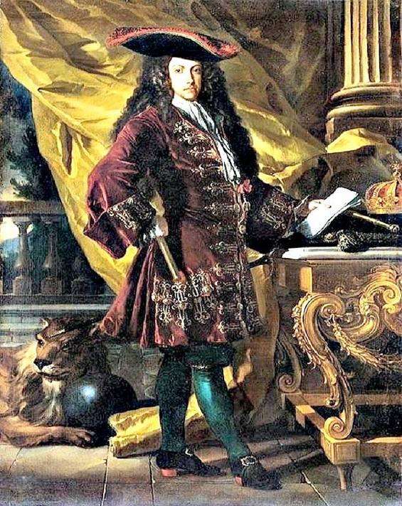 Retrato del Archiduque Carlos de Austria del año 1707, realizado en plena Guerra de Sucesión Española, obra del artista Francesco Solimena. Museo de Capodimonte. (Wikimedia Commons)