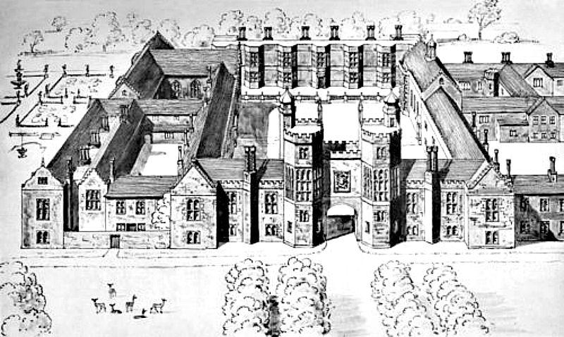 Vista general del Palacio de Beaulieu, tal y como era en la época en la que María residió en él. (Wikimedia Commons)