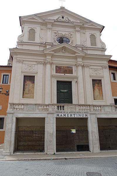 La Cárcel Mamertina a día de hoy, Roma, Italia