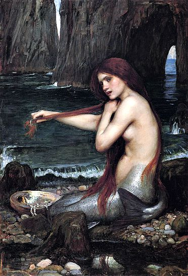 """Sirena"" de John William Waterhouse, 1901 (Wikimedia Commons)"