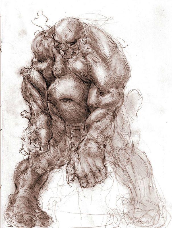Pese a su total desaparición a manos de los israelitas, el recuerdo de los Nefilim, su gran poder y el temor que provocaban permanecieron incólumes con el paso del tiempo, inspirando a numerosos personajes mitológicos posteriores. Recreación artística de un gigante. (Public Domain)