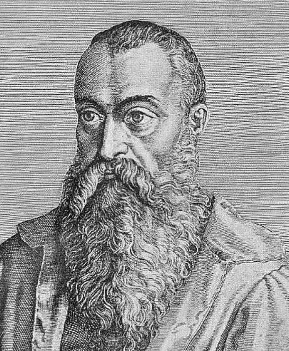 Autorretrato de Julio César Scaliger, erudito, amigo, maestro y mentor del joven Michel de Nostradamus y que, con el paso del tiempo, se convertiría en uno de sus mayores opositores. (Public Domain)