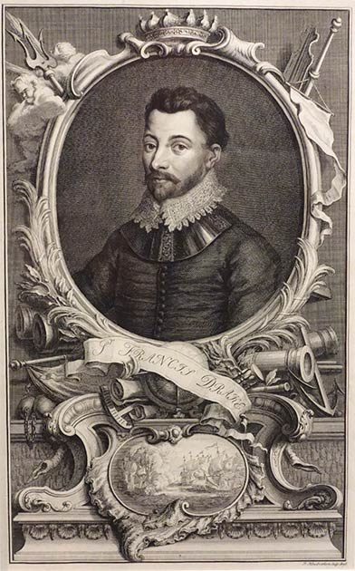 "Francis Drake: ¡Este famoso pirata tenía una ""licencia para robar"", otorgada por la propia Reina de Inglaterra! (Daderot / CC0)"